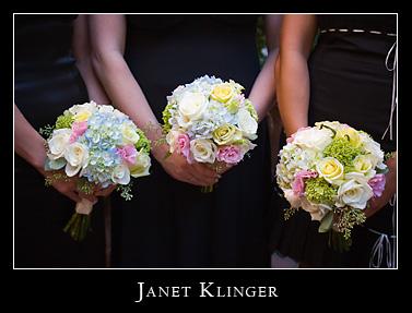 Aria Floral Bridesmaids Bouquets