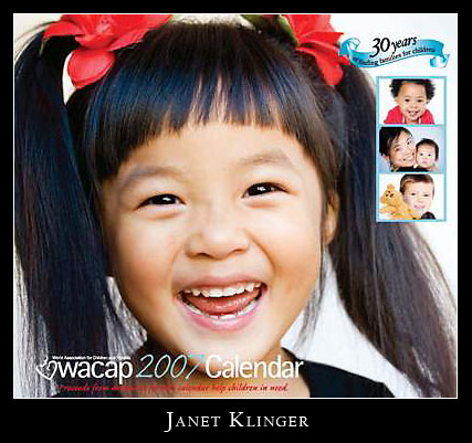 WACAP Calendar by Janet Klinger Photography