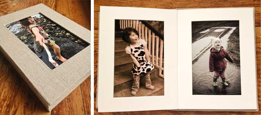Small matted album