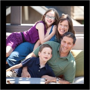 Be your authentic self in family pictures by Janet Klinger.
